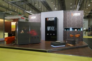 Messestand Luccon